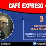 """César Peñaranda: """"Debemos cerrar este año con 3.5 %  de crecimiento"""""""