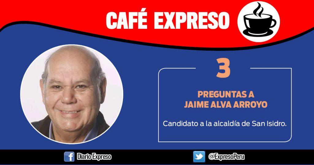 """Jaime Alva Arroyo: """"Mejoraremos calidad de vida de los vecinos"""""""