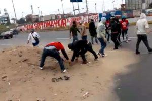 "Callao: ""Simpatizantes"" de Vamos Perú bloquearon Av. Faucett [VÍDEO]"