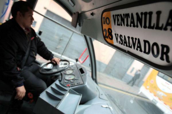 Transporte público en el Callao tendrá tarjeta electrónica