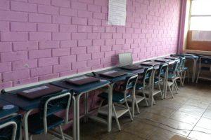 Roban 20 laptos en colegio estatal República de Venezuela del Callao