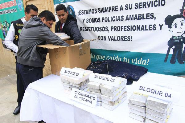 Policía incauta más de 36 kg. de cocaína que iban a ser preñados