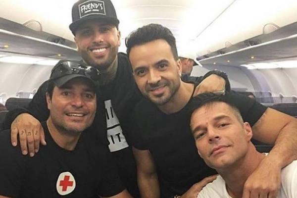 Ricky, Chayanne y Fonsi llegan a Puerto Rico