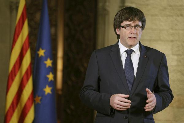 El presidente catalán se refugia en Bruselas