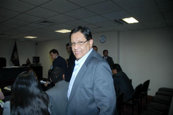 Ministerio Público pide 5 años de prisión para Carlos Moreno