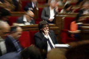 Se profundiza crisis política por Cataluña