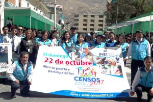Censos Nacionales 2017: INEI convoca a voluntarios para ser empadronadores