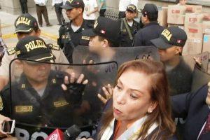 Colegio de Abogados de Lima es desalojado del Palacio de Justicia