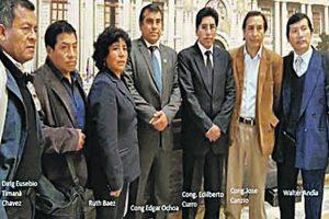Congresistas apoyan a profesores del Movadef