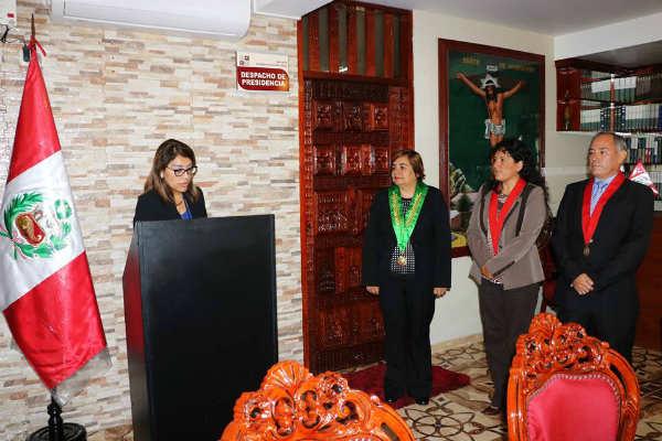 Corte de Ventanilla logra convenio con el Colegio de Abogados del Callao