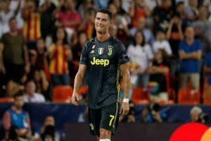 Champions League: Allegri respaldan a Cristiano Ronaldo después de expulsión