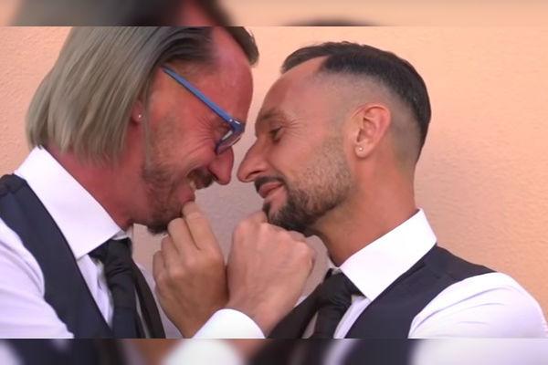 YouTube: Sacerdote gay se casa y comparte su historia