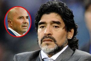 "Diego Maradona: ""Sampaoli es una vergüenza"""