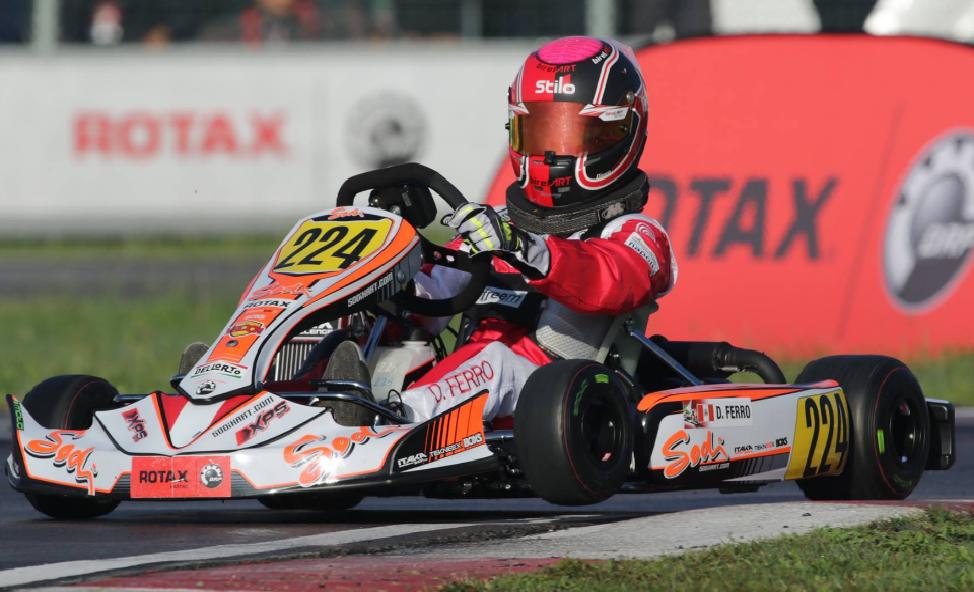 Presidente del karting agredió a piloto Diego Ferro