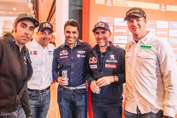 Fuchs presente en lanzamiento oficial del Rally Dakar 2018