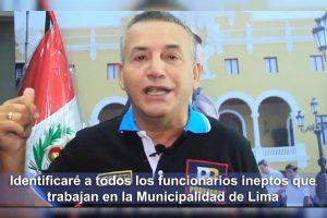 Daniel Urresti rechaza sentencia por difamación [VÍDEO]