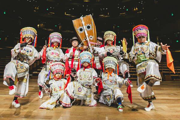 Homenaje a la Danza de las Tijeras en el Gran Teatro Nacional