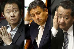 Kenji Fujimori, Guillermo Bocángel y Bienvenido Ramírez se salvan del desafuero