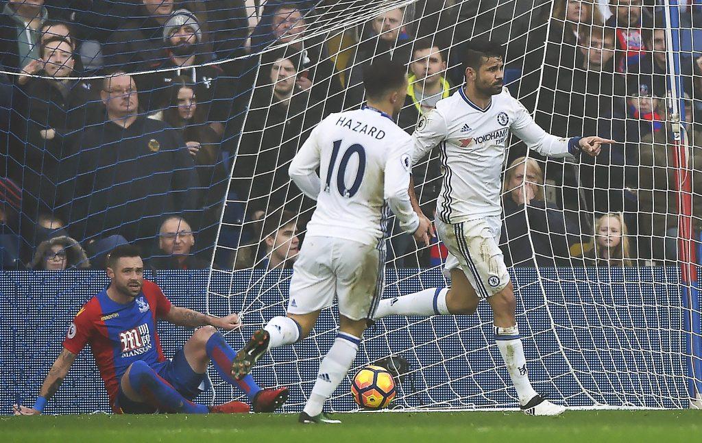 Costa le da al Chelsea el undécimo triunfo consecutivo