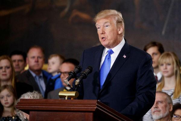 """Donald Trump: """"Las guerras comerciales son buenas»"""