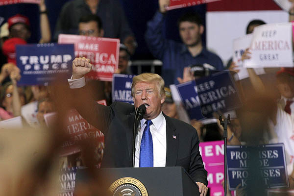 """Trump irá a la ONU mostrando """"ideología nacionalista"""""""