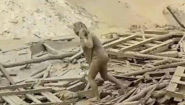 Evangelina, la sobreviviente del huaico [FOTOS Y VIDEO]