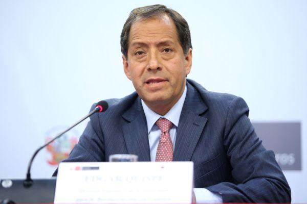 Congreso: Edgar Quispe presenta detalles sobre el proceso de reconstrucción del país