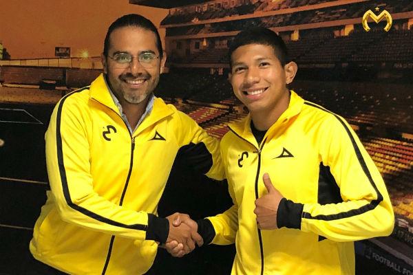 Edison Flores firma por el Monarcas Morelia hasta el 2022