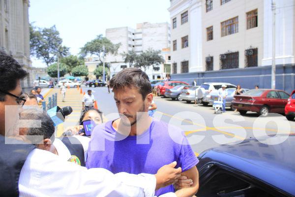 Edu Saettone es recluido en el penal Ancón II