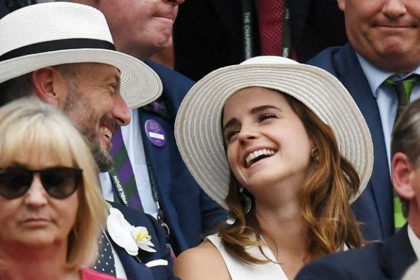 Emma Watson opaca a la realeza británica