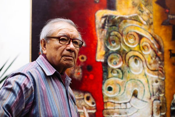 Reconocen a pintor Enrique Galdos Rivas