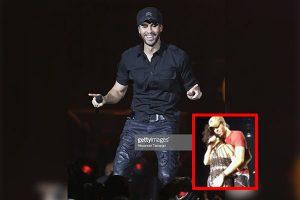Enrique Iglesias toca partes íntimas de corista