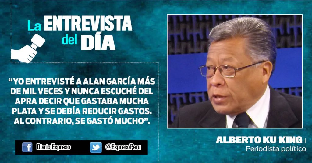 """Alberto Ku King: """"'Ley Mulder' es reacción hepática, más que política"""""""