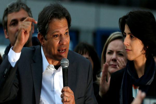 Brasil: Fernando Haddad niega indultar a Lula da Silva si gana las elecciones