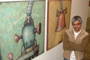 Fito Espinosa: Artista plástico ofrecerá talleres gratuitos este sábado