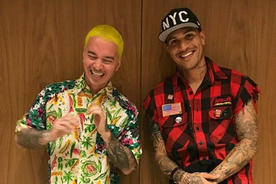 Instagram: Paolo Guerrero y J Balvin en divertido video