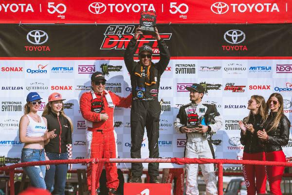 Mikio Inoguchi se queda con la cuarta fecha del Campeonato Drifting