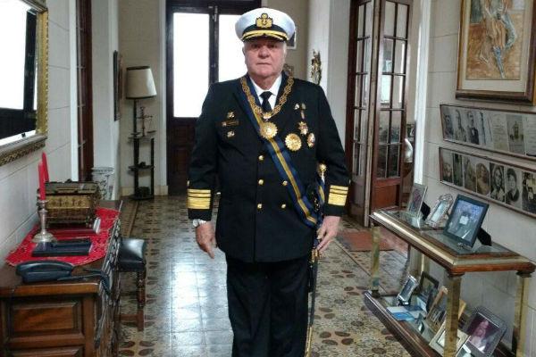 """""""Estoy orgulloso de pertenecer a la Marina"""""""