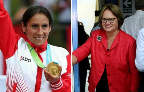 Gladys Tejeda: Nancy Lange felicita a la maratonista por su triunfo