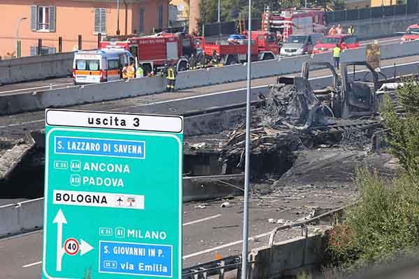 Italia: Explosión de un camión cisterna deja 2 muertos y más de 60 heridos [VIDEO]