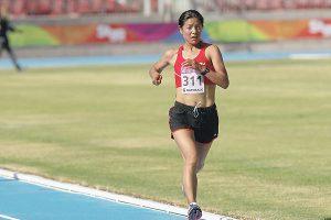 Juegos Bolivarianos: Inés Melchor gana medalla de oro en los 10,000 metros planos