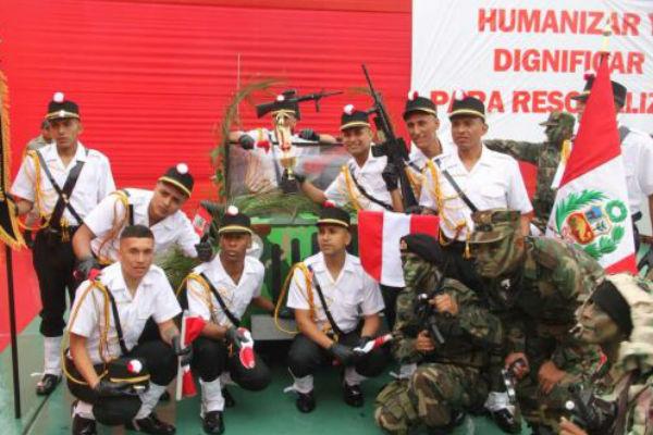 Fiestas Patrias: Internos del penal del Callao celebran con canciones y desfile