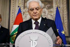 Italia: Convocarán a nuevas elecciones