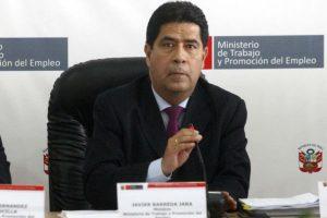 """Javier Barreda: """"Confiamos en que se llegará a un consenso para aumentar sueldo mínimo"""""""