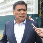 Velásquez Quesquén pide que Fiscalía investigue audio editado