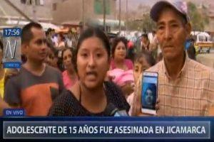 Jicamarca: Hallan cadáver de menor de 15 años que habría sido violada
