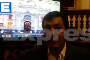 Joaquín Dipas, presidente de la Comisión Especial Multipartidaria de apoyo al VRAEM, conversó con EXPRESO