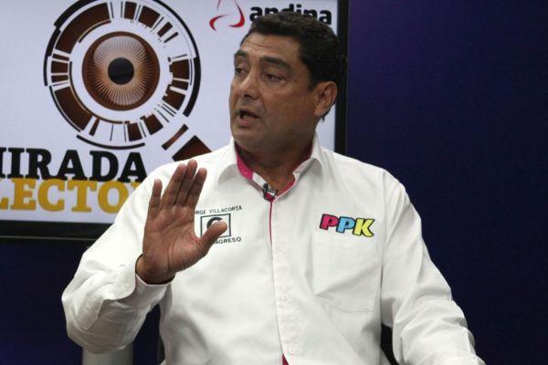 Jorge Villacorta: El partido oficialista pasará a llamarse 'Peruanos Por el Cambio'