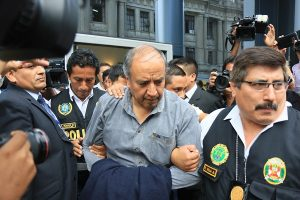 Barata autorizó pagos en coimas de US$ 3 millones a exgobernador Jorge Acurio