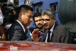 Informe refuta versión de fiscal José Domingo Pérez